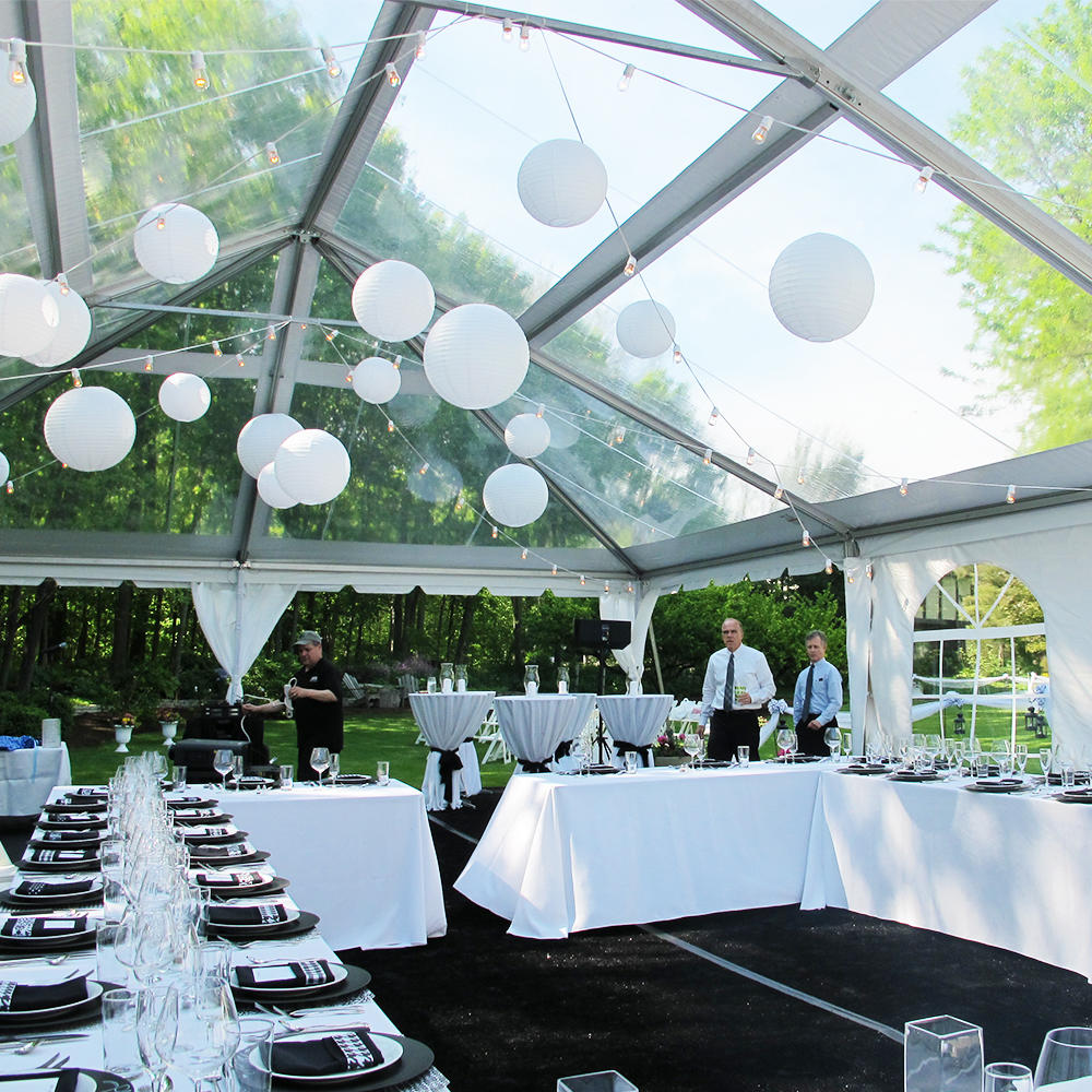 Custom Outdoor Decorating Party Wedding Marquee Tent With Floor