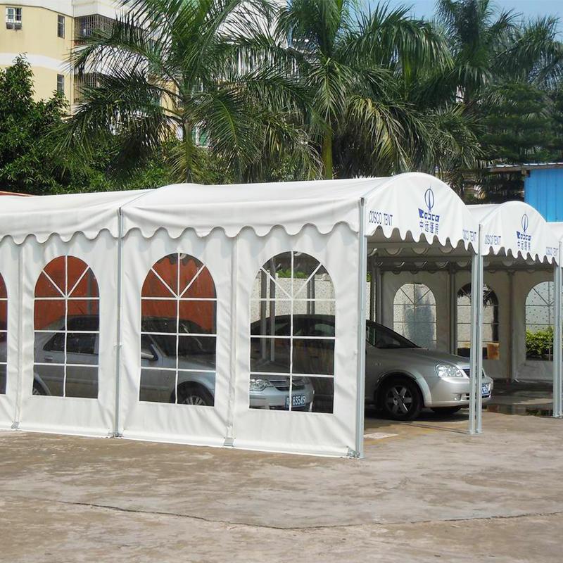 Outdoor Aluminum PVC Arcum Tent Dome Marquee Car Shelter Tent