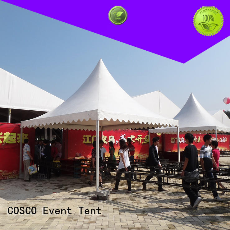 COSCO party wedding tent long-term-use for engineering