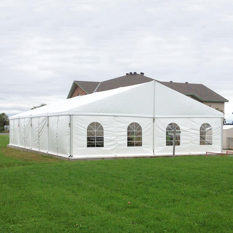 Custom Aluminum Frame PVC Blackout Coated Big Church Tent