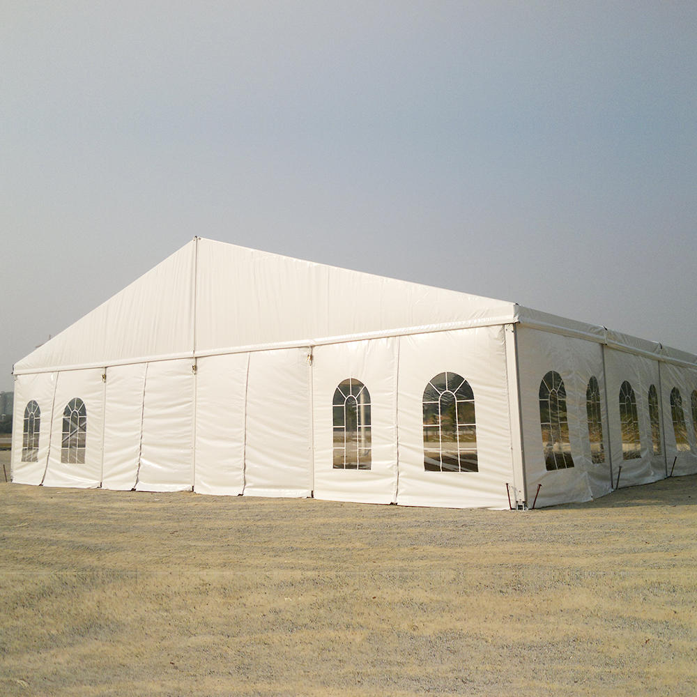 Custom Aluminum Frame PVC Blackout Coated Big Church Tent