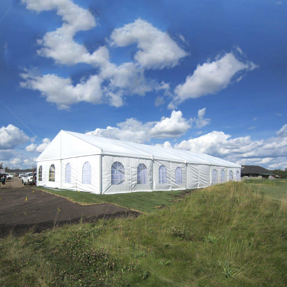 North American Standards Large Clear Span Prefabricated Aluminum Wedding Hall Tent