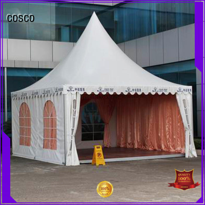 COSCO supernacular gazebo tents for sale widely-use cold-proof