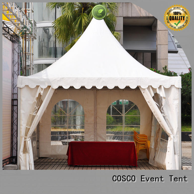 wedding tent from effectively cold-proof
