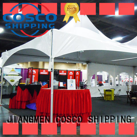 COSCO distinguished party tent effectively for wedding
