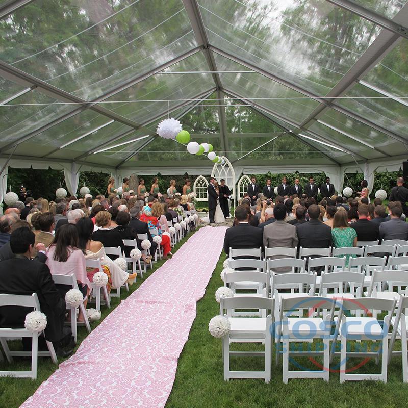 2019 New transparent wedding tent glass wedding tent