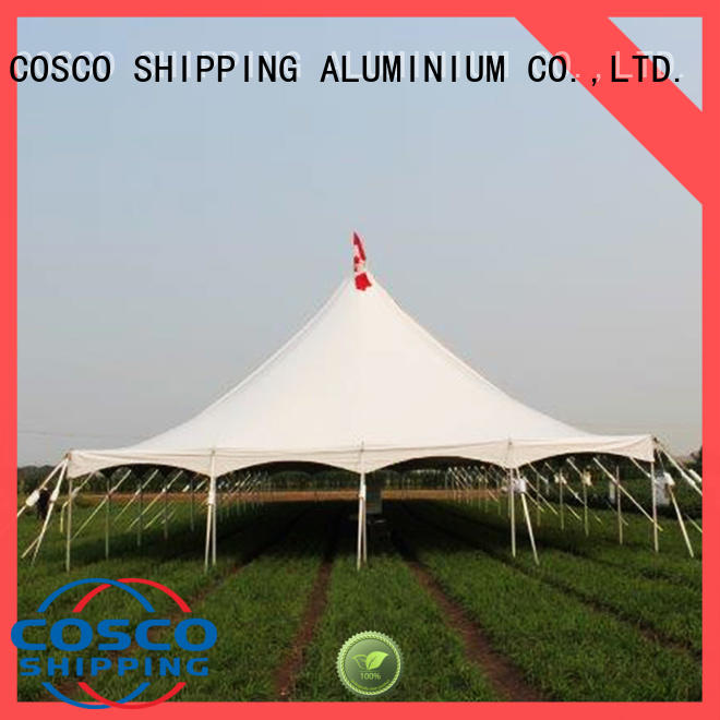 COSCO first-rate peg and pole tents in-green cold-proof