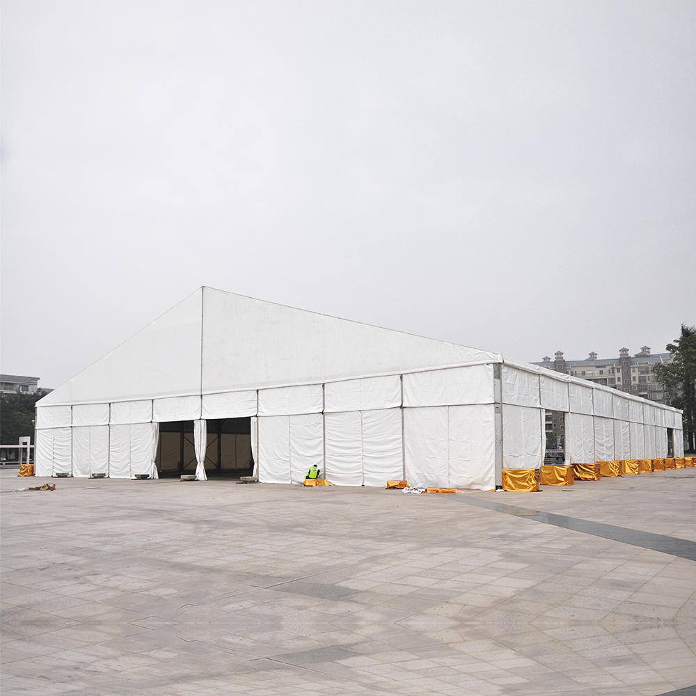 Outdoor Transparent Roof/ PVC Coated Polyester Textile Wedding Party Tents For 200/ 500 People