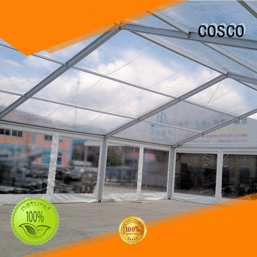 COSCO pagoda structure tents supplier for holiday