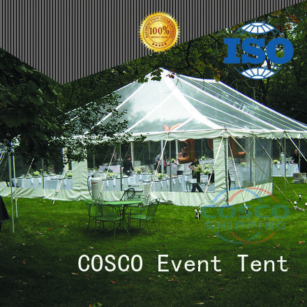 COSCO aluminium party tent cost for engineering