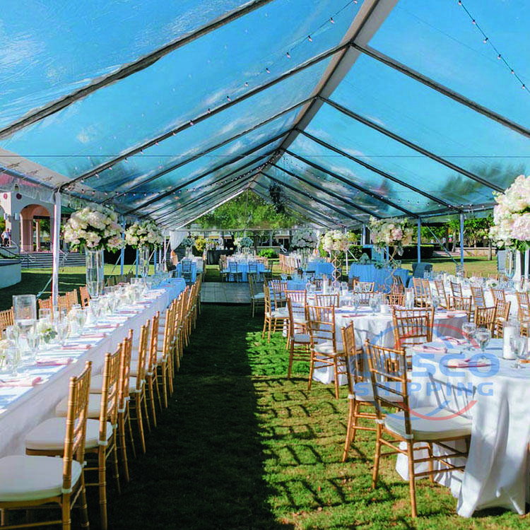 Aluminum tents for events wedding tent for winter party