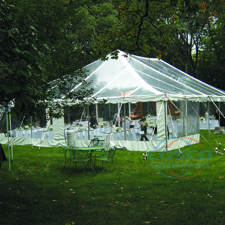 Outdoor aluminum wedding party tent event waterproof wedding tents