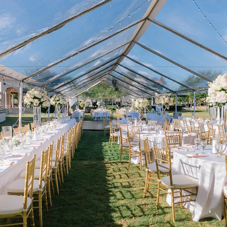 China Wholesale Transparent Luxury Wedding Event 40x60 Party Tents For Sale