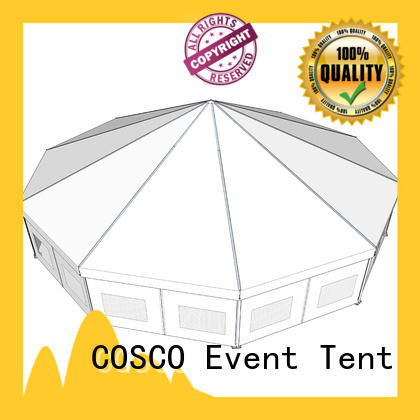 COSCO exhibition party gazebo long-term-use cold-proof