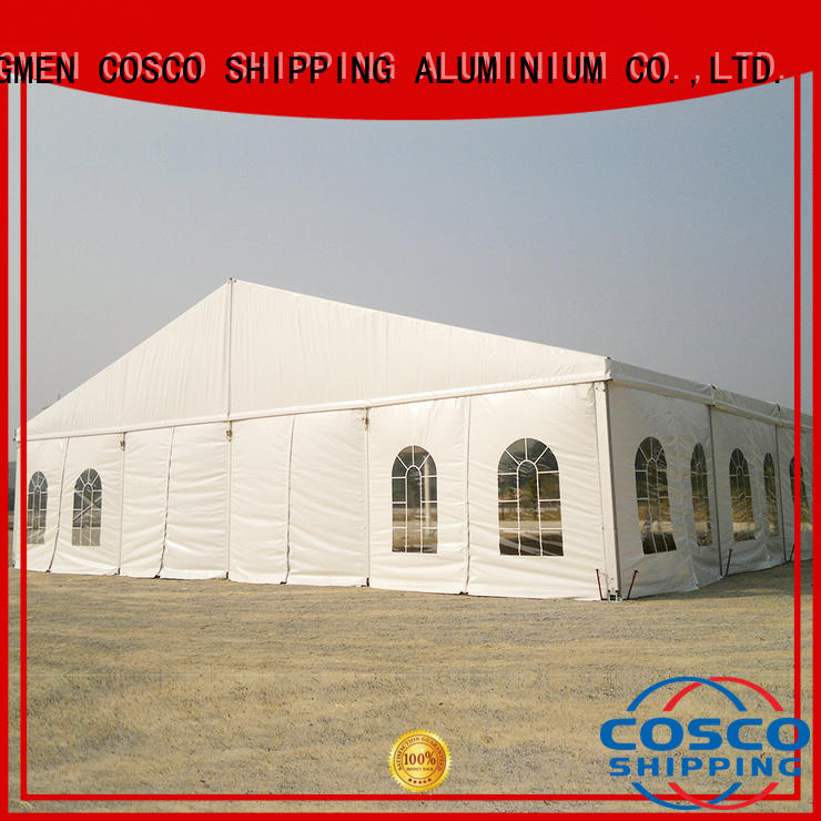 COSCO structure party tents for sale cost for engineering
