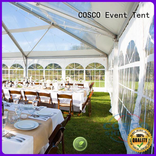 COSCO wedding structure tents grassland