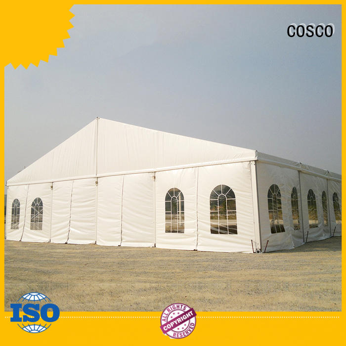 COSCO 40x60m event tent marketing for holiday