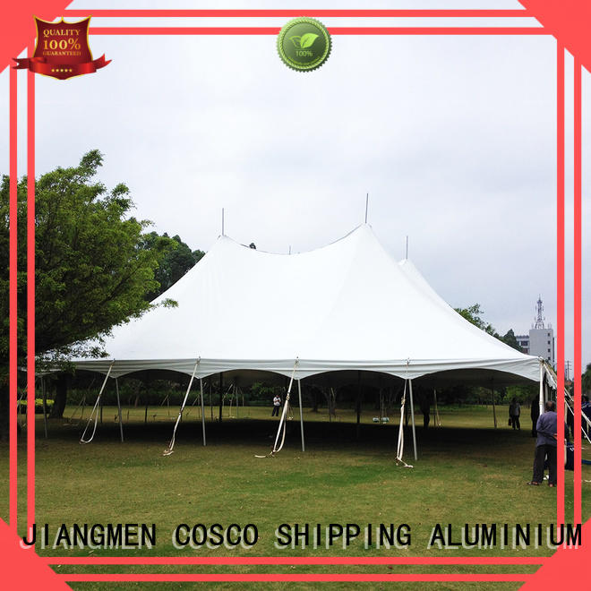 COSCO peg wedding tents for sale popular for disaster Relief