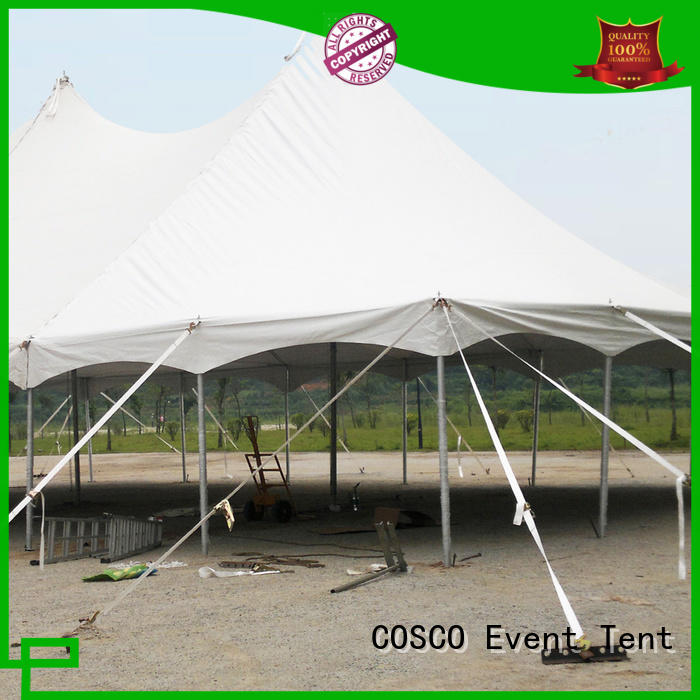 COSCO tent wedding canopy in-green for engineering