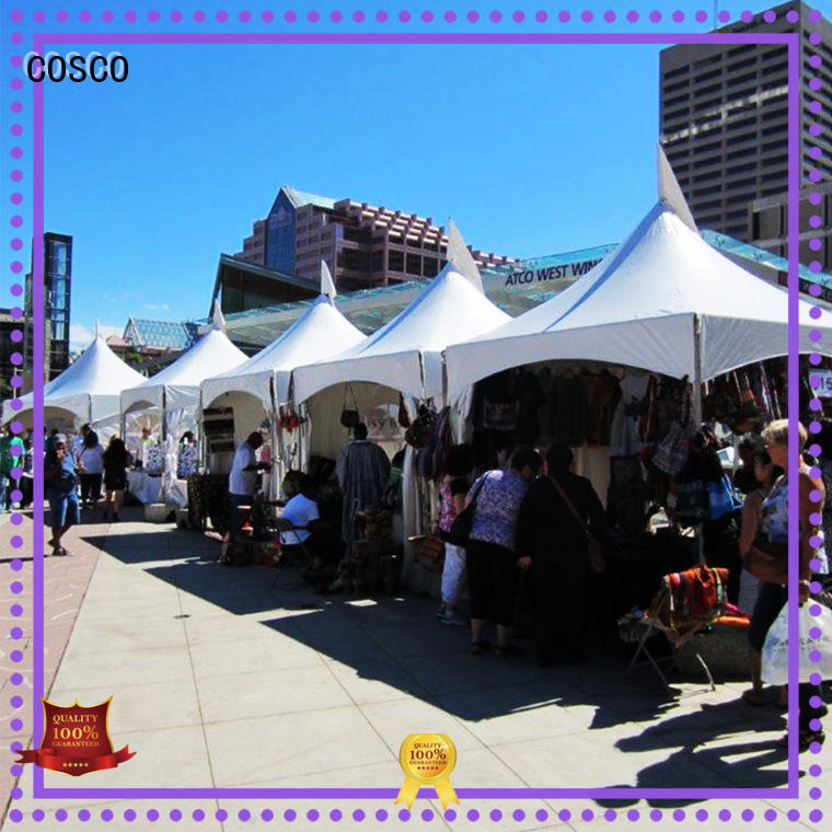 COSCO ft frame tent supplier dustproof
