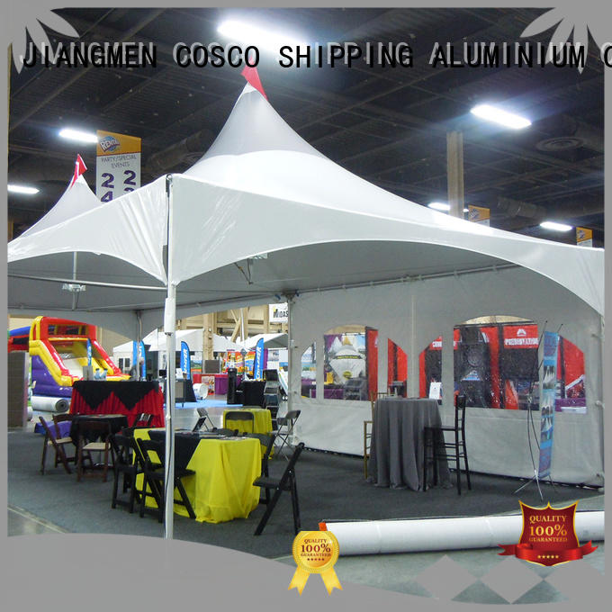 COSCO party marquee effectively snow-prevention