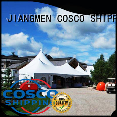 COSCO outdoor party tent effectively