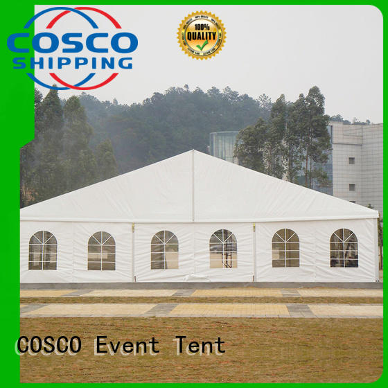 COSCO party structure tents grassland
