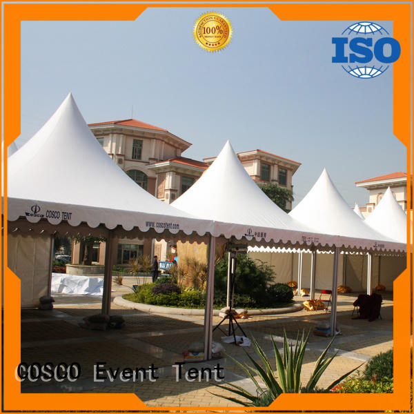 COSCO curved gazebo canopy tent snow-prevention