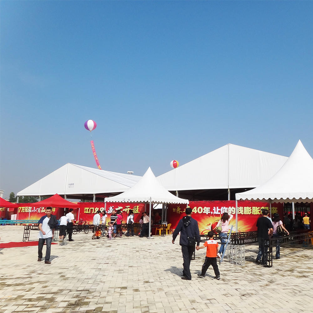 COSCO Commercial Aluminum PVC Exhibition Gazebo Tent Modular Trade Show Promotional Tent
