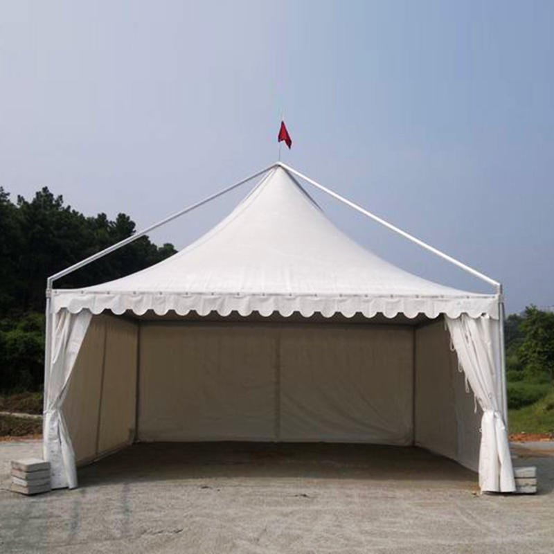COSCO Aluminium and PVC Coated Tent White Gazebo Outdoor Tent