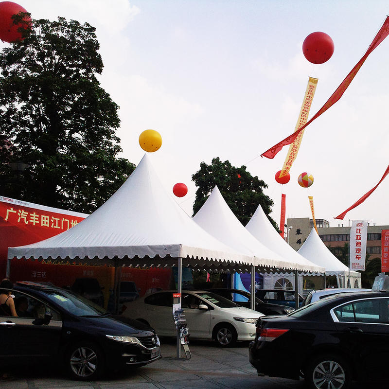 3x3 Customized size outdoor exhibition commercial white industrial gazebo tents for sale