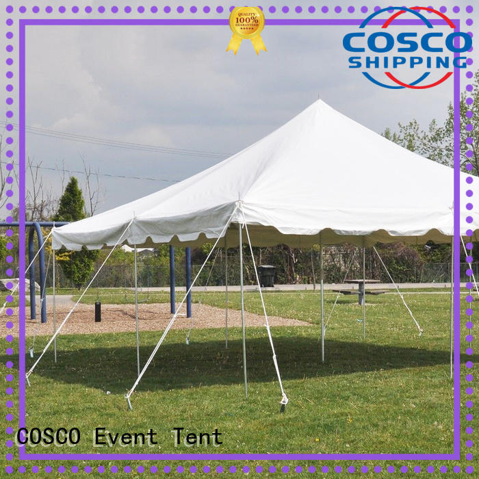 COSCO new-arrival peg and pole tents for sale for engineering