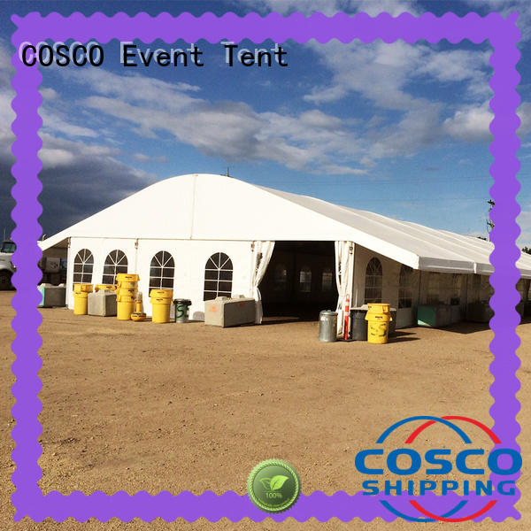 COSCO wedding marquee tents prices in different shape snow-prevention