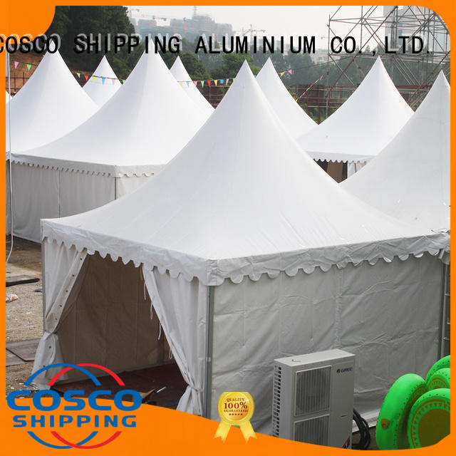 COSCO from gazebo canopy tent effectively for disaster Relief