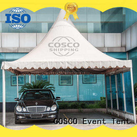 COSCO party wedding tent vendor anti-mosquito