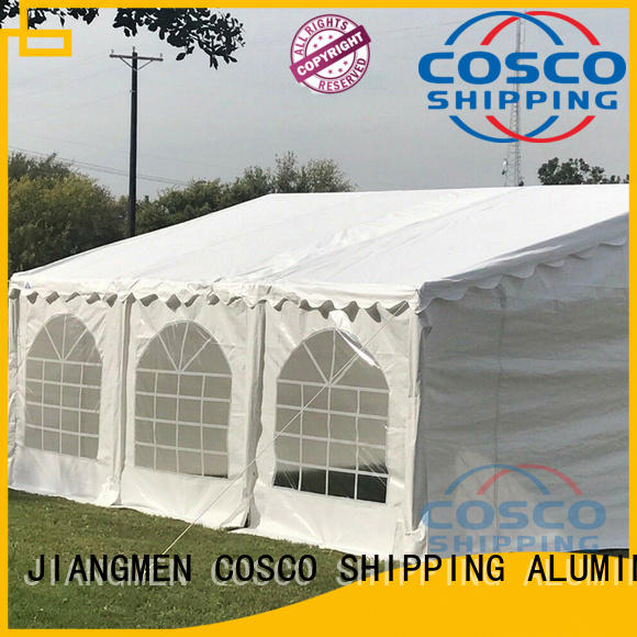 COSCO party gazebo supplier for engineering