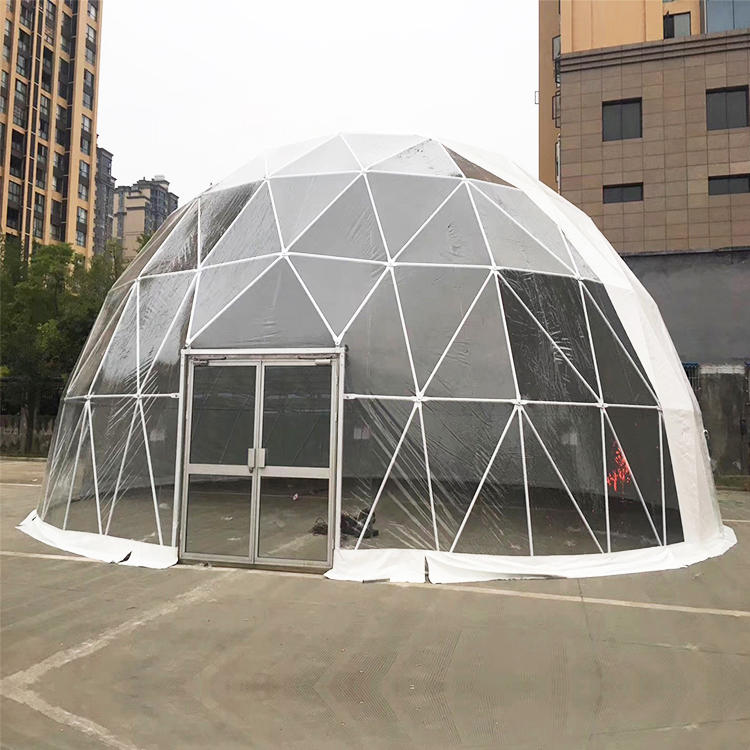 Outdoor Aluminum Frame Transparent PVC Clear Dome Igloo Event Tent
