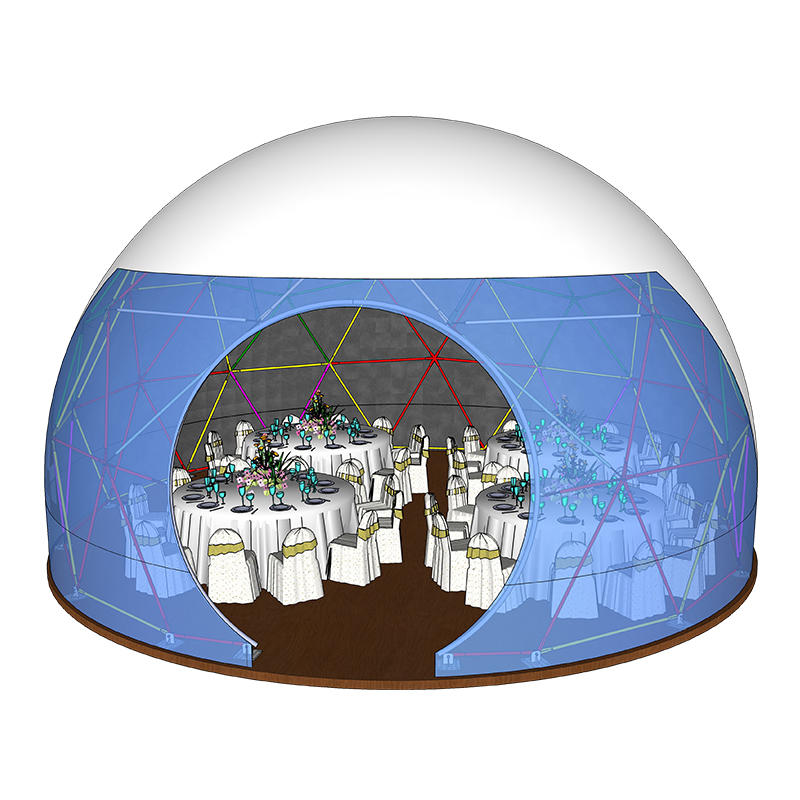 Special Shaped Promotional Geodesic Dome Tents For Events