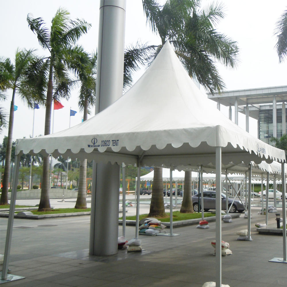 COSCO Outdoor Exhibition Promotion Gazebo Tent Small Pagoda Tent 3x3