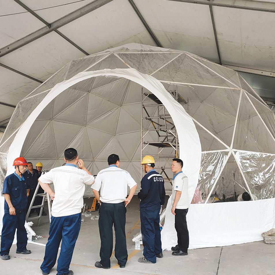 Best Price geodesic dome glamping luxury tent house For Sale