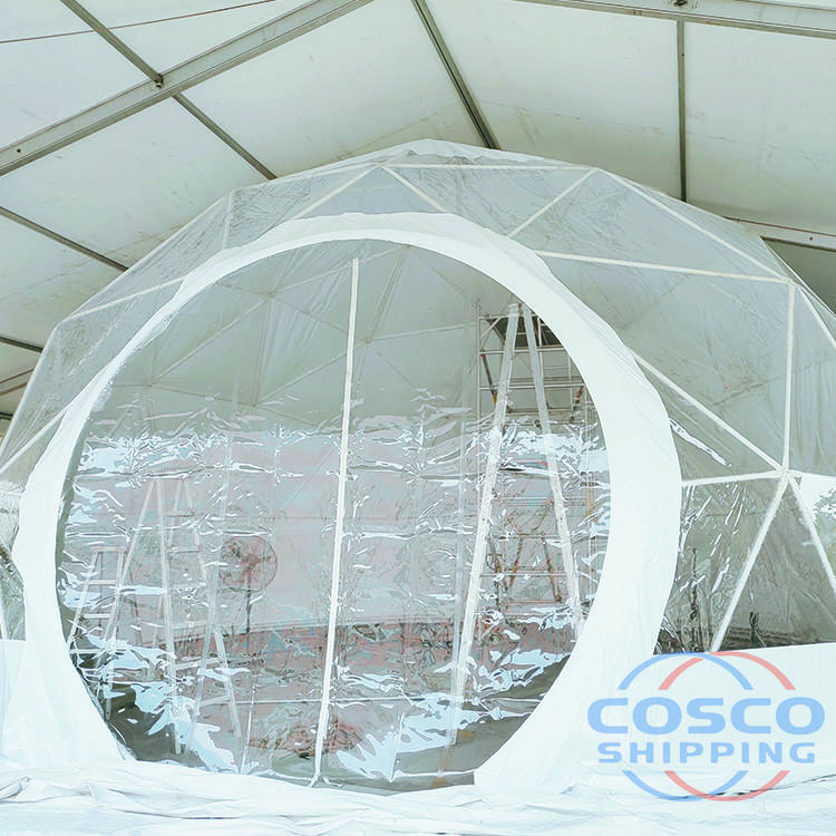 6 Diameter events tent dome transparent dome tent for camping