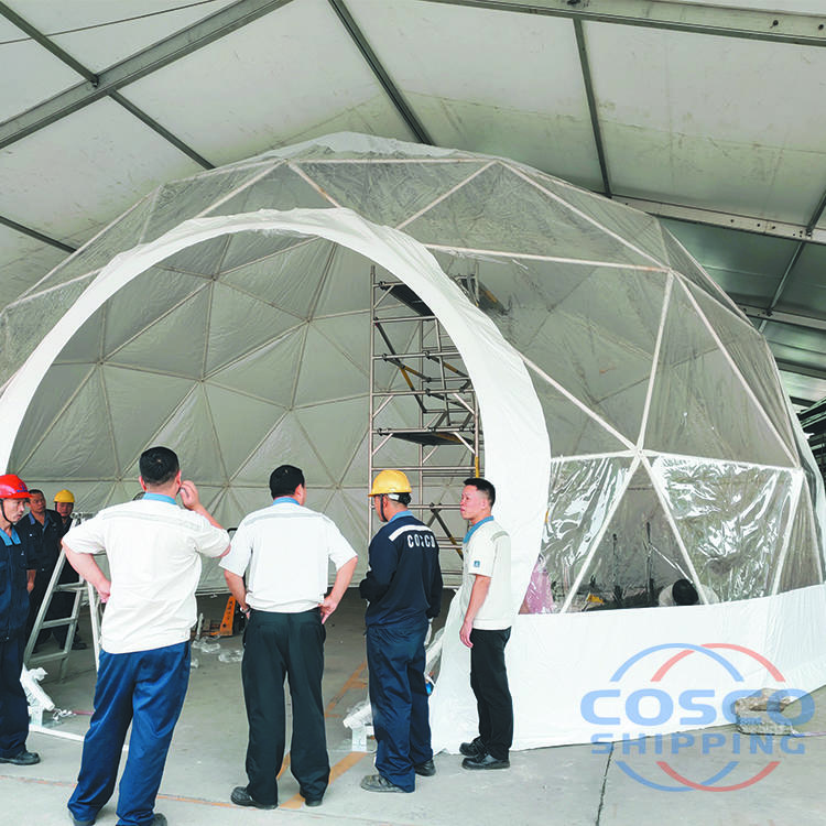 15m 20m 30m Diameter aluminium outdoor tent for events frame pvc dome tent with price