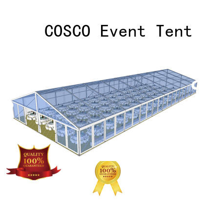 COSCO structure party tents for sale supplier