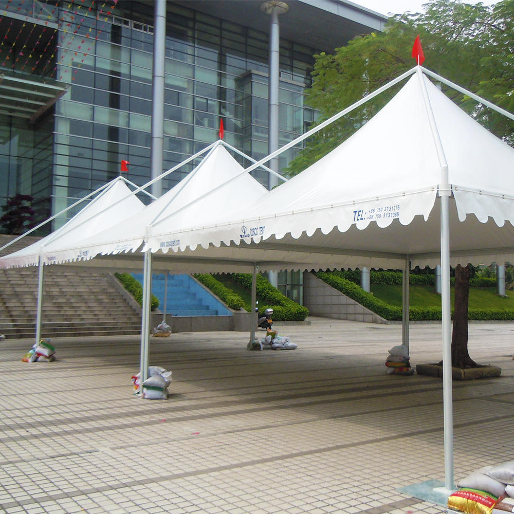 COSCO China Supplier Aluminum comercial Pagoda Market Tent For Food Stall