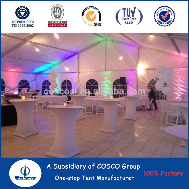 Hot Sale Modular Tent With Flooring Lighting System for Weddings Party