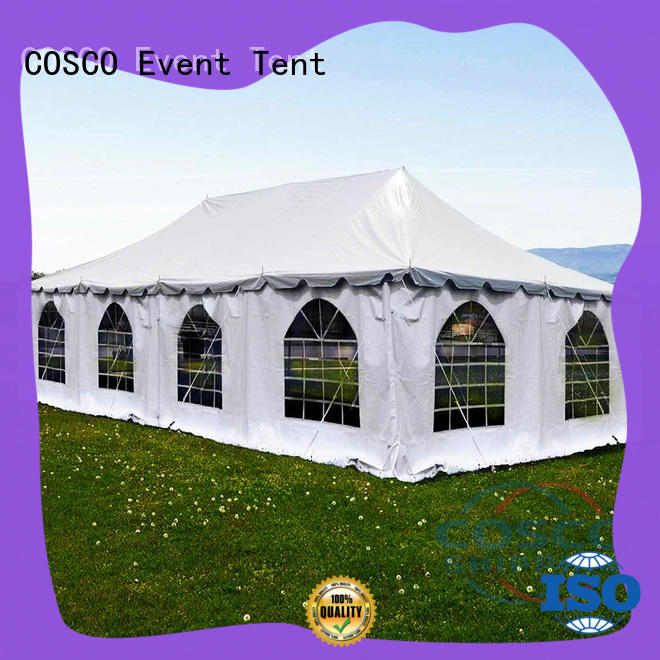 distinguished event tent from in-green