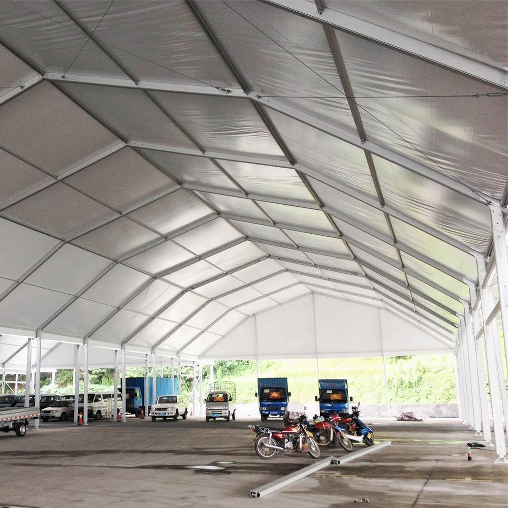COSCO Outdoor Aluminum Frame Wedding Glass Marquee Tent House Glass Wall and Door Polygon Roof Event Tent