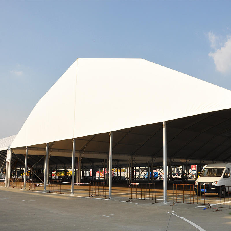 COSCO Outdoor Aluminum Alloy Frame Polygon Roof Large Car Parking Carport Tent