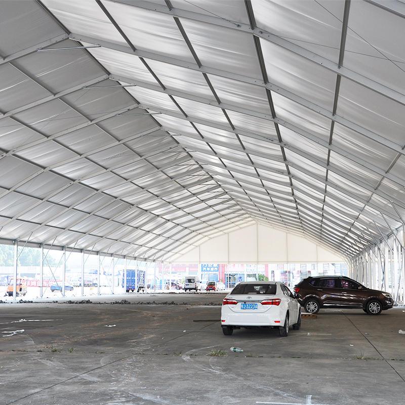 COSCO Outdoor Strong Aluminum Frame Big Size Polygon Tent Garage Car Shade Tent
