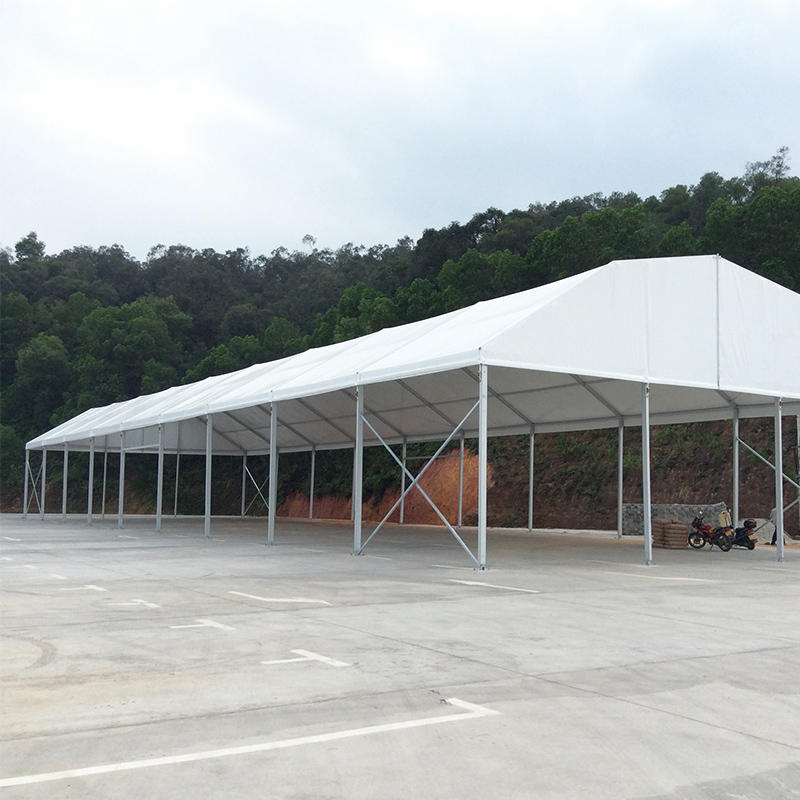 Big new stylish tent material pvc transparent for wedding tent or canopy